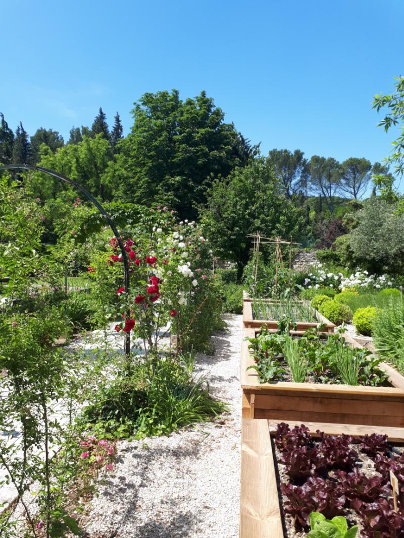 Carré potager Beaumont Paysages jardinier paysagiste