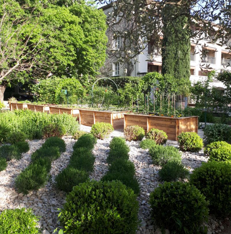Hôtel Baumanière Beaumont Paysages jardinier paysagiste